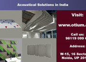 Top acoustical solution provider in india