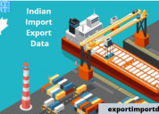Indian import export data with free demo data