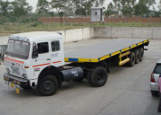 Trailer truck transport new delhi