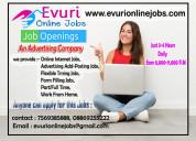 Freelance part/full time jobs home based