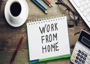 Part-time/full-time work from home job available