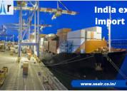 Authentic india export import data