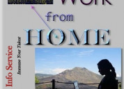 Home based part time jobs & services