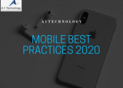 Best mobile practices 2020