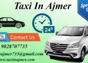 Taxi in ajmer, ajmer taxi, taxi service in ajmer