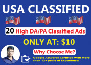 Classified ads posting in usa