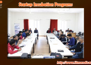 Startup incubation program