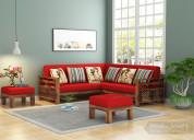 Monsoon sale!!upto 55% off on l shape sofa set