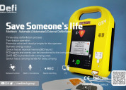 Portable biphasic aed with ce certificate