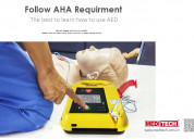 China defi5t meditech professional aed trainer wit