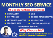 Best monthly seo service