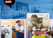 Need local home appliance repair service at a budg