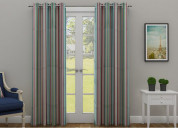 Get awesome different curtain designs from wooden
