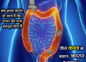 Know the causesof constipation,symptoms & remedies