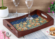 Shop the wooden trays onlines at low price from wo
