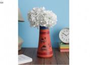 Looking for flower vase then visit wooden street