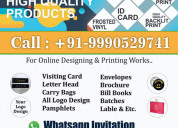 Digital printing company in delhi & graphics designing service