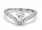 buy heart shaped ring from ornate jewels