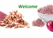 Top manufacturer of dehydrated vegetable powder |