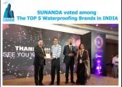 Top 5 waterproofing brands in india | sunanda glob