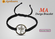 Ma durga bracelet with diamonds