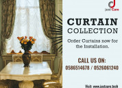 Curtain and blind installation service in dubai