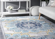 Buy kitchen and round rugs @ wooden street in wide
