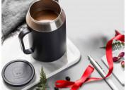 Tupperware desk coffee tea mug 400 ml black