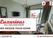 Finest interior design services in lahore