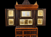 Best wooden office temple online