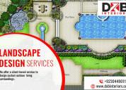 Excellent landscape design services in lahore