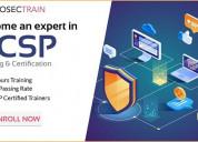 Cloud security certification training