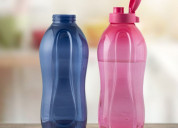 Tupperware aquasafe 2l fliptop bottle 2pc