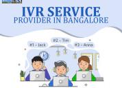 Ivr service provider in bangalore