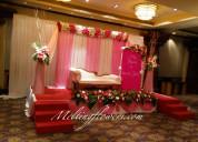 Outdoor wedding decoration mysore