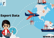 Import export data with free sample download