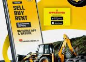 Heavy construction equipments for sale