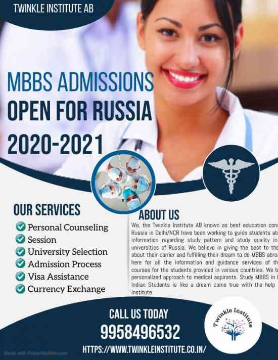 top 10 mbbs college in Russia 2020-21Twinkle Insti