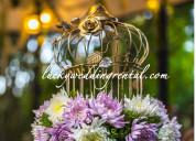 Party event rentals, wedding props rental, wedding