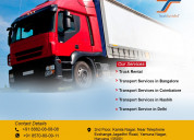 Best transport services in india