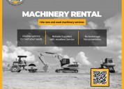 Marketplace for heavy construction equipments