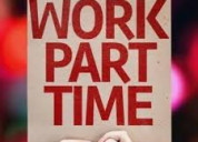 Vacancy available for part time work