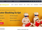 Readymade php theater booking script