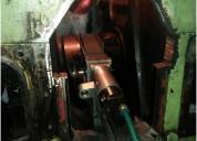 Daihatsu 6 dk-20 crankshaft repair
