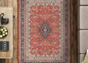Hand knotted silk oriental carpets in delhi, india