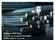 Shyam metalics- best tmt bars manufacturer