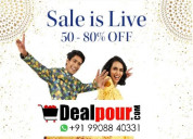 Myntra diwali sale 2020: get 50% - 80% off
