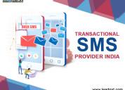 Transactional sms provider india