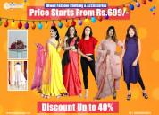 Shop georgette anarkali kurta for women in chennai