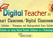Smart classroom content for cbse and ap & ts state
